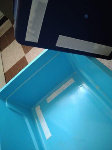 フェレットキャリバッグのトイレの工夫